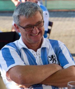 Fanclub-Vorstand Sepp Schmid.