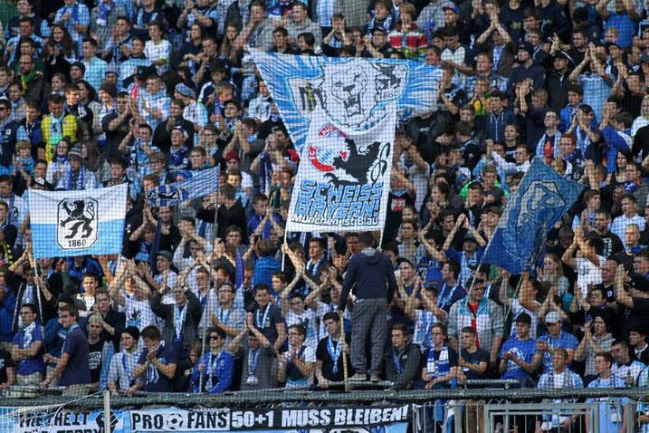 Wo geht der Weg des TSV 1860 hin? Gehts nach dem Gusto der Fans, soll Löwen-Freund Ismaik mehr Macht bekommen. Foto: WAGNER