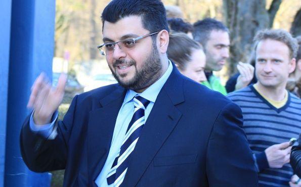 Will aufsteigen: Hasan Ismaik. Foto: GRISS