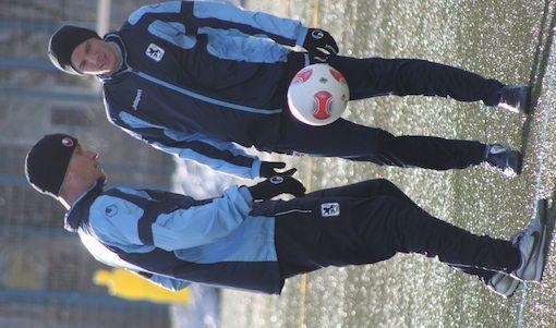 Na endlich: Rob Friend kann mit der Mannschaft trainieren. Foto: GRISS
